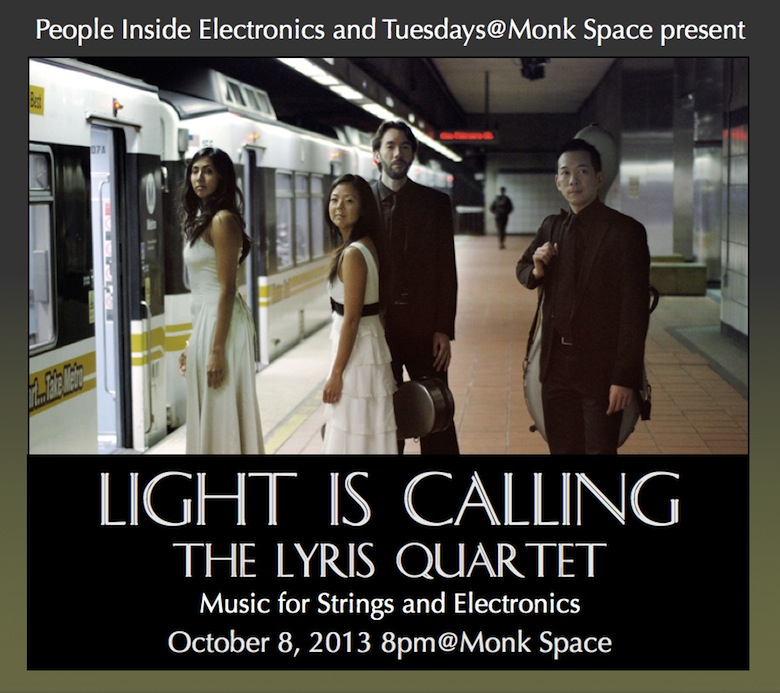 Light is Calling - The Lyris Quartet